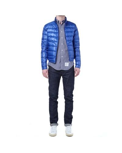 Erkek Şişme Mont Açık Mavi