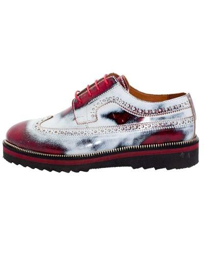 Rugan Ayakkabı Kırmızı