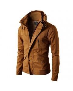 Erkek Kapüşonlu Ceket